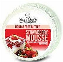Parfums et Produits cosmétiques Crème mains et pieds, Mousse aux fraises - Stani Chef's Hand And Foot Butter Strawberry Mousse