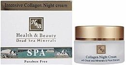 Parfums et Produits cosmétiques Crème de nuit au collagène - Health and Beauty Intensive Collagen Night Cream