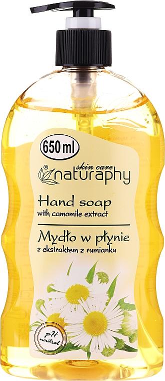 Savon liquide à l''extrait de camomille - Bluxcosmetics Naturaphy Hand Soap