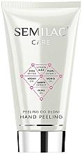 Parfums et Produits cosmétiques Exfoliant à l'huile d'argan pour mains - Semilac Care Hand Peeling