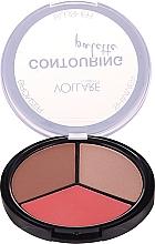 Parfums et Produits cosmétiques Palette contouring - Vollare Cosmetics Contouring Palette Bronzer, Shimmer, Blusher