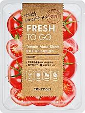 Parfums et Produits cosmétiques Masque tissu rafraîchissant aux tomates pour visage - Tony Moly Fresh To Go Mask Sheet Tomato