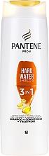 Parfums et Produits cosmétiques Shampoing, après-shampoing et soin protecteur 3 en 1 - Pantene Pro-V Hard Wate Shield 5 3in1 Shampoo