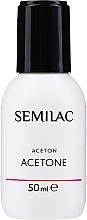 Parfums et Produits cosmétiques Acétone cosmétique pour vernis hybride - Semilac Acetone