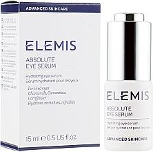 Parfums et Produits cosmétiques Sérum à l'huile de camomille contour des yeux - Elemis Advanced Skincare Absolute Eye Serum