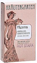 Parfums et Produits cosmétiques Poudre de henné très rouge - Styx Naturcosmetic Henna Rot Stark