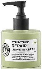 Parfums et Produits cosmétiques Crème coiffante réparatrice sans rinçage - Maria Nila Structure Repair Leave In Cream