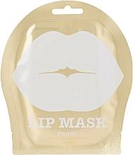 Parfums et Produits cosmétiques Masque tissu à l'extrait de fleurs de verger pour lèvres - Kocostar Pearl Lip Mask