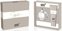 Parfums et Produits cosmétiques Montblanc Signature - Coffret (eau de parfum/50ml + lotion corporelle/100ml)