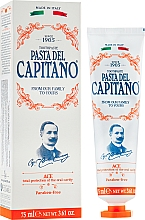 Parfums et Produits cosmétiques Dentifrice aux vitamines A, C et E - Pasta Del Capitano 1905 Ace Toothpaste Complete Protection