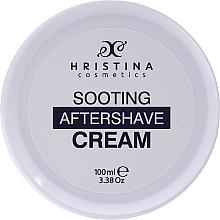 Parfums et Produits cosmétiques Crème après-rasage à l'extrait de camomille et pamplemousse - Hristina Cosmetics Soothing After Shave Cream