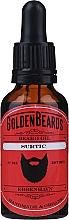 Parfums et Produits cosmétiques Huile à l'huile de menthe poivrée pour barbe, Surtic - Golden Beards Beard Oil