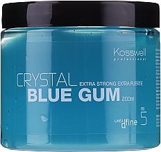Parfums et Produits cosmétiques Gel coiffant, fixation extra forte - Kosswell Professional Dfine Crystal Blue Gum
