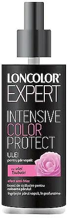 Huile à l'huile de tsubaki pour cheveux - Loncolor Expert Intensive Color Protect