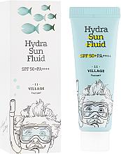 Parfums et Produits cosmétiques Fluide solaire à l'huile de jojoba pour visage - Village 11 Factory Hydra Sun Fluid SPF 50+ PA++++
