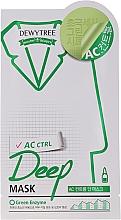 Parfums et Produits cosmétiques Masque à l'extrait de menthe pour visage - Dewytree AC Control Deep Mask