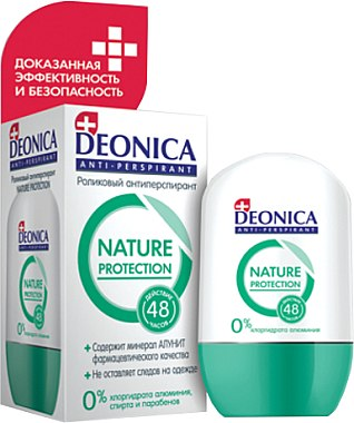 Roll-on anti-transpirant - Deonica Nature Protection — Photo N1