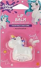 Parfums et Produits cosmétiques Baume à lèvres brillant, Licorne, blanc - Chlapu Chlap Lip Balm