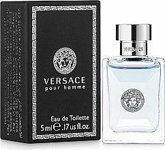 Parfums et Produits cosmétiques Versace Versace Pour Homme - Eau de Toilette (mini)