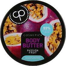 Parfums et Produits cosmétiques Beurre à la fruit de la passion pour corps - Cosmepick Body Butter Passion Fruit