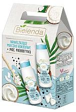 Parfums et Produits cosmétiques Coffret cadeau - Bielenda Beauty Milky Coconuts (milk/400ml + sh/milk/400ml)