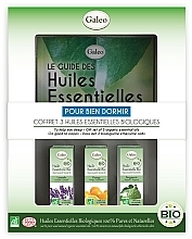Parfums et Produits cosmétiques Galeo To Help You Sleep Gift Set - Coffret, Pour bien dormir (huiles essentielles bio/3x10ml)