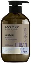 Parfums et Produits cosmétiques Après-shampooing à l'huile d'argan et extrait de jasmin - Ecolatier Urban Hair Balm