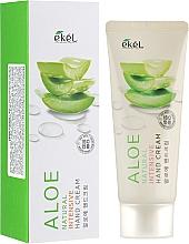Parfums et Produits cosmétiques Crème à l'extrait d'aloe vera pour mains - Ekel Natural Intensive Aloe Hand Cream