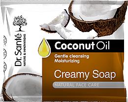 Parfums et Produits cosmétiques Savon-crème à l'huile de coco - Dr.Sante Cream Soap