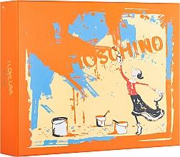 Parfums et Produits cosmétiques Moschino I Love Love - Coffret (eau de toilette/50ml + lotion corps/100ml + gel douche/100ml)