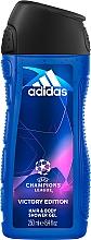 Parfums et Produits cosmétiques Adidas UEFA Champions League Victory Edition - Gel douche corps et cheveux pour homme