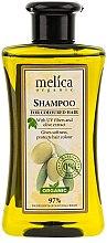 Parfums et Produits cosmétiques Shampooing à l'extrait d'olive - Melica Organic For Coloured Hair Shampoo