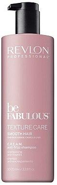 Shampooing au panthénol - Revlon Professional Be Fabulous Texture Care Smooth Shampoo — Photo N2