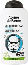 Parfums et Produits cosmétiques Gel douche corps et cheveux - Corine de Farme Star Wars Force