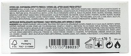 Collistar - Set (hydro-gel après-rasage effet fraîcheur/100ml + anti-rides révitalisant quotidien/30ml) — Photo N4