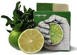 Parfums et Produits cosmétiques Savon naturel à la menthe et au citron vert - Uoga Uoga I'm no Sweetie Soap