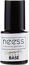 Parfums et Produits cosmétiques Base coat beige pour vernis semi-permanent - Neess Extremely Hard Base