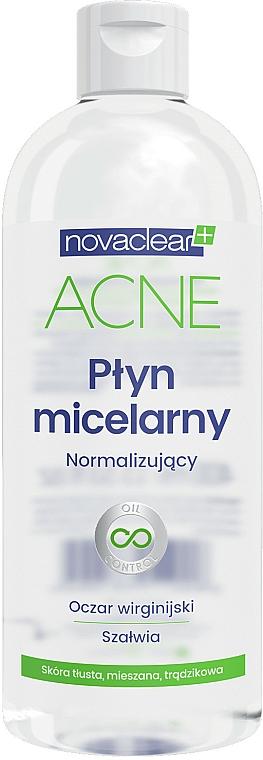Eau micellaire à l'extrait d'hamamélis - Novaclear Acne Micellar Water