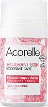 Parfums et Produits cosmétiques Déodorant roll-on bio, arôme Rose sauvage - Acorelle Wildrose Deo Roll-on