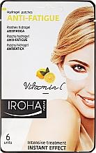 Parfums et Produits cosmétiques Patchs hydrogel à la vitamine C sous les yeux - Iroha Nature Anti-Fatigue Hydrogel Patches Vitamin C
