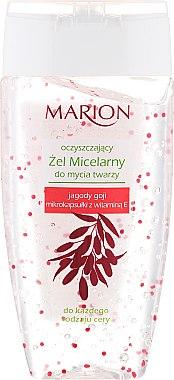 Gel nettoyant micellaire aux baies de Goji et vitamine E pour visage - Marion Micelar Gel