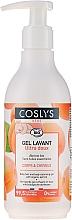 Parfums et Produits cosmétiques Gel nettoyant à l'abricot bio pour cheveux et corps - Coslys Baby Care Baby Cleansing Gel-Hair & BodyWith Organic Apricot