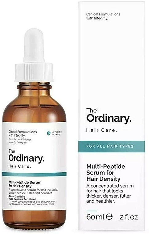 Sérum capillaire aux multi-peptides - The Ordinary Multi Peptide Serum For Hair Density