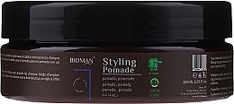 Parfums et Produits cosmétiques Pommade modelante pour cheveux - BioMan Styling Pomade