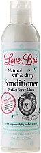 Parfums et Produits cosmétiques Après-shampooing à l'huile d'argan, figue et noix de coco - Love Boo Natural Soft And Shiny