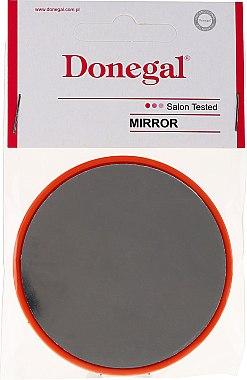 Miroir rond compact 9511, 7 cm, orange - Donegal