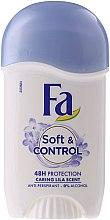 Déodorant stick sans alcool - Fa Soft & Control Lila Scent Stick — Photo N2
