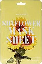 Parfums et Produits cosmétiques Masque tissu à l'extrait de tournesol pour visage - Kocostar Slice Mask Sheet Sunflower