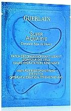 Parfums et Produits cosmétiques Patchs à l'extrait de réglisse pour contour des yeux - Guerlain Super Aqua-Eye Anti-Puffness Smoothing Eye Patch