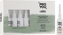 Parfums et Produits cosmétiques Ampoules à l'extrait de romarin pour cheveux - Revlon Professional Pro You The Winner Anti-Hair Loss Treatment